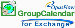 Exchange group calendar